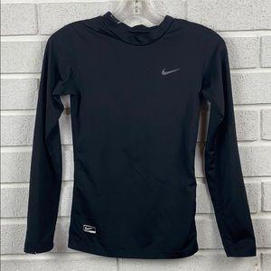 Nike boys black size 10-12 athletic top
